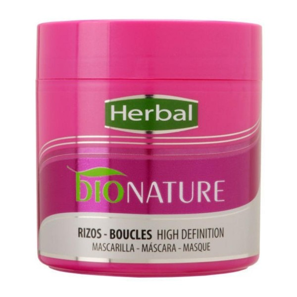 Herbal hispania bionature mascarilla rizos 400ml